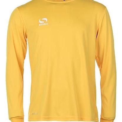 Pánské sportovní tričko s dlouhým rukávem Sondico zlaté