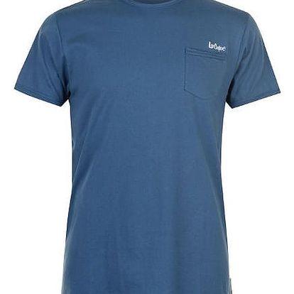 Pánské tričko Lee Cooper Raw modré