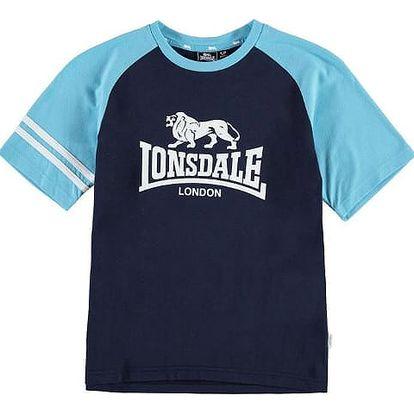 Dětské tričko Lonsdale Junior modré
