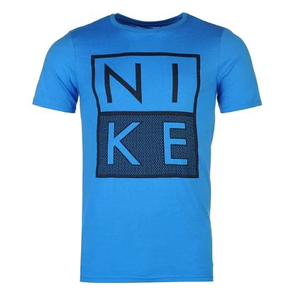 Pánské tričko NIKE Box modré