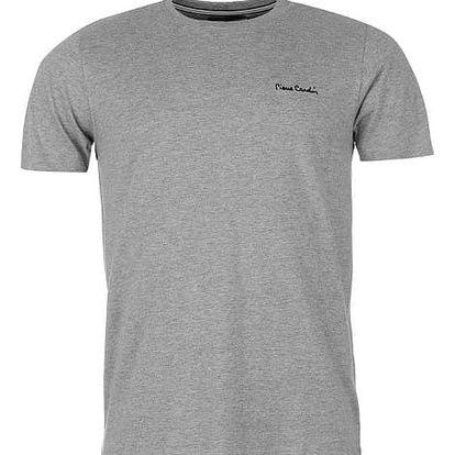 Pánské tričko Pierre Cardin Plain šedé