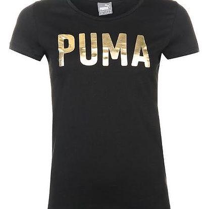 Dámské tričko PUMA Foil černé