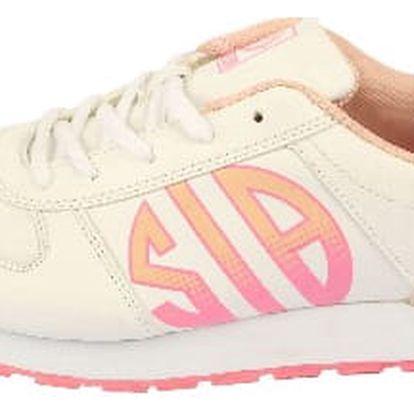 Dámské vycházkové sportovní boty MIKOOMI bílé/růžové