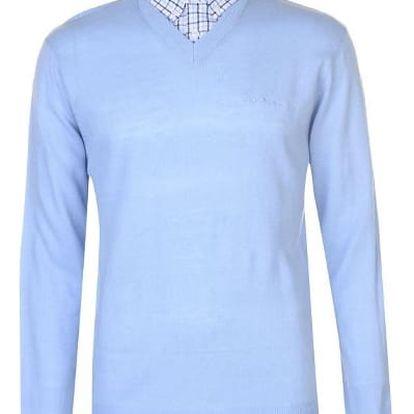 Pánský svetr Pierre Cardin světle modrý