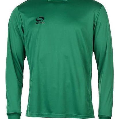Pánské sportovní tričko s dlouhým rukávem Sondico zelené