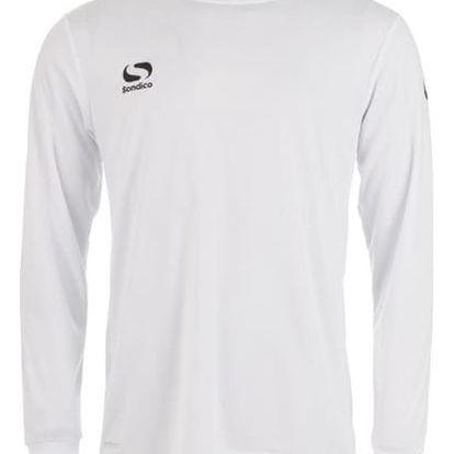 Pánské sportovní tričko s dlouhým rukávem Sondico bílé