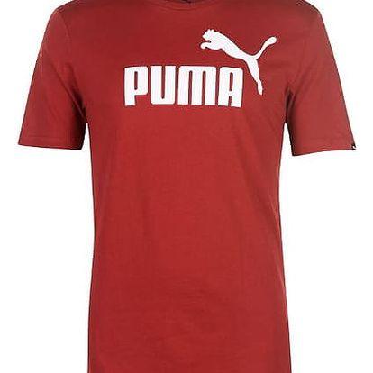 Pánské tričko PUMA Logo červené