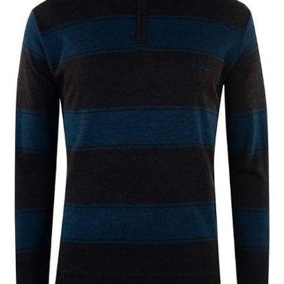 Pánský svetr Pierre Cardin Quarter tmavě modrý