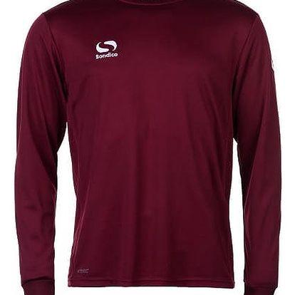 Pánské sportovní tričko s dlouhým rukávem Sondico bordó