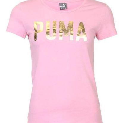 Dámské tričko PUMA Foil růžové