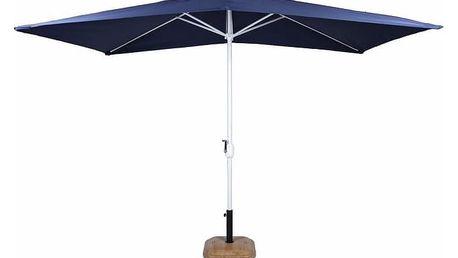 Garthen 6307 Slunečník obdélníkový 2x3 m - modrý