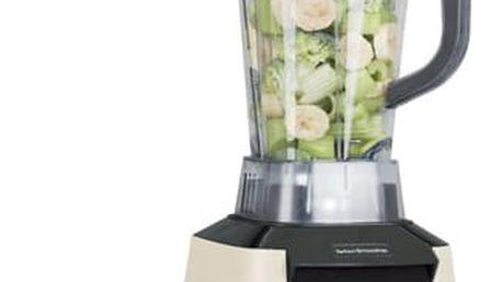 Stolní mixér G21 Perfect smoothie Vitality Cappuccino + dárek Příslušenství k robotům G21 Kniha Secret of Raw Tajemství syrové stravy v hodnotě 490 Kč + DOPRAVA ZDARMA