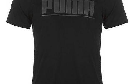 Pánské tričko PUMA Rebel černé