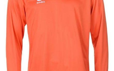 Pánské sportovní tričko s dlouhým rukávem Sondico oranžové