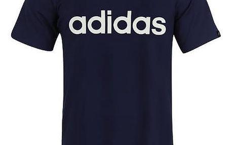 Pánské tričko ADIDAS Linear tmavé modré