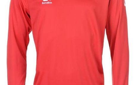 Pánské sportovní tričko s dlouhým rukávem Sondico červené