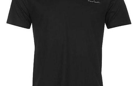 Pánské tričko Pierre Cardin Neck černé