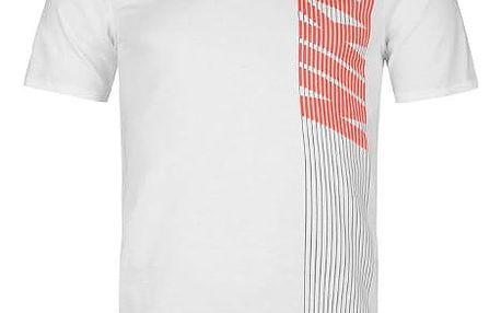Pánské tričko NIKE Vertical bílé
