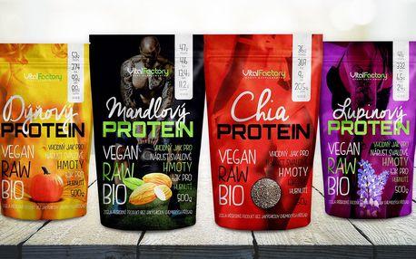 Rostlinné proteiny do smoothie, nápojů i jídel