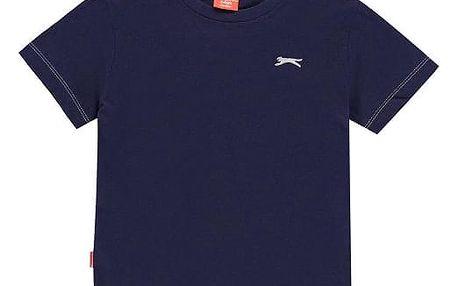 Značkové dětské tričko Slazenger tmavě modré