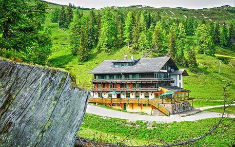 Alpy s polopenzí + dítě do 14,9 let zdarma