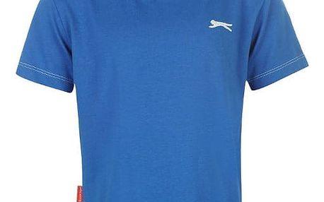 Značkové dětské tričko Slazenger modré