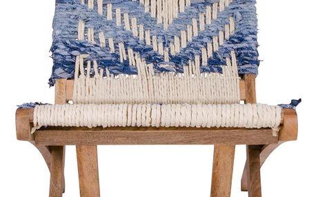 Skládací židle z mangového dřeva House Nordic Ulum