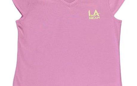 Dětské tričko LA Gear růžové