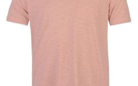 Pánské tričko Pierre Cardin Layered lososové