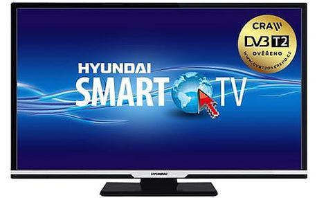 Televize Hyundai HLR 32TS470 SMART černá