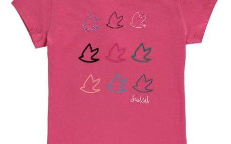 Dětské tričko SoulCal Girls junior růžové