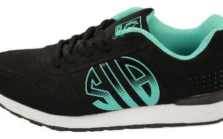 Dámské vycházkové sportovní boty MIKOOMI černo/zelené
