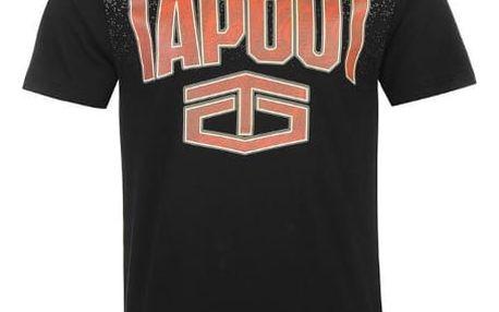 Pánské tričko Tapout Gradient černé