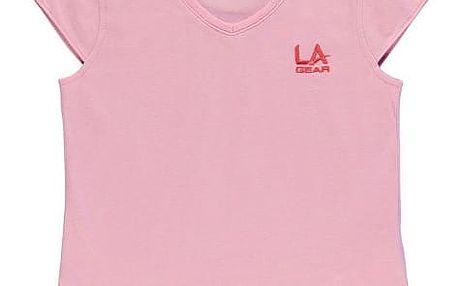 Dětské tričko LA Gear světle růžové