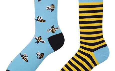 Ponožky Many Mornings Bee Bee,vel.35–38
