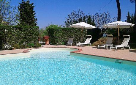 Toskánská dovolená ve vile s bazénem