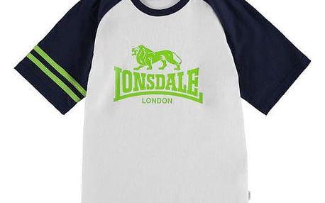 Dětské tričko Lonsdale Junior bílé