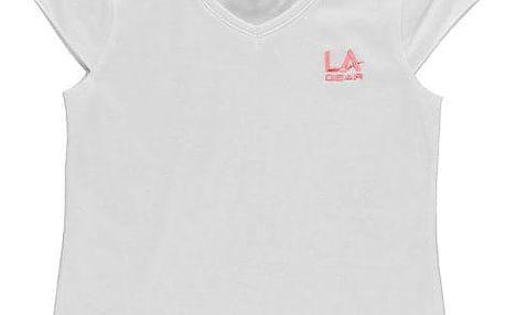 Dětské tričko LA Gear bílé