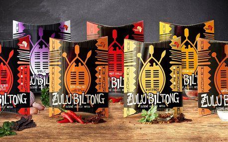 Zulu Biltong: africké pochoutky ze sušeného masa