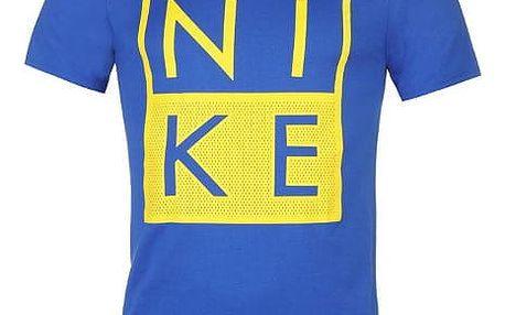 Pánské tričko NIKE Box tmavě modré