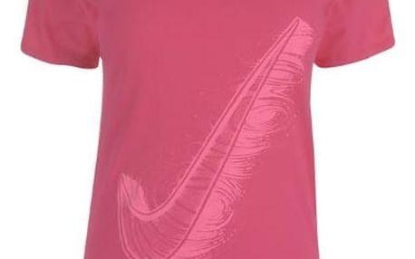 Dámské tričko NIKE QTT růžové