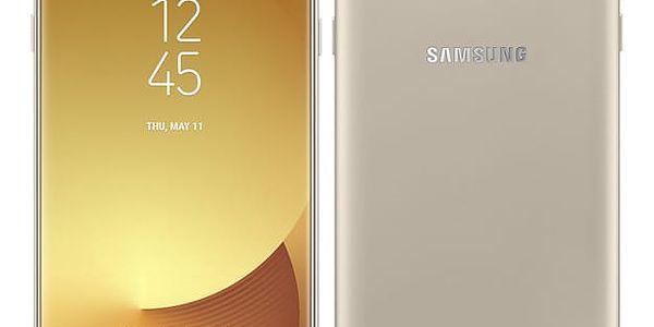 Mobilní telefon Samsung J7 2017 (J730F) (SM-J730FZDDETL) zlatý Software F-Secure SAFE, 3 zařízení / 6 měsíců v hodnotě 979 Kč + DOPRAVA ZDARMA
