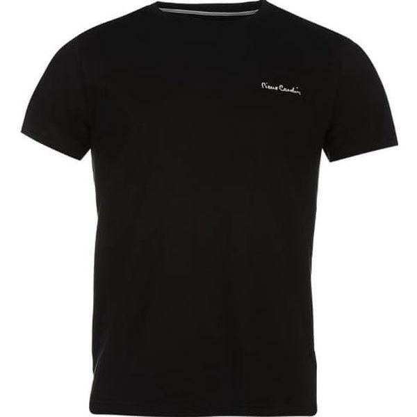 Pánské tričko Pierre Cardin Plain černé