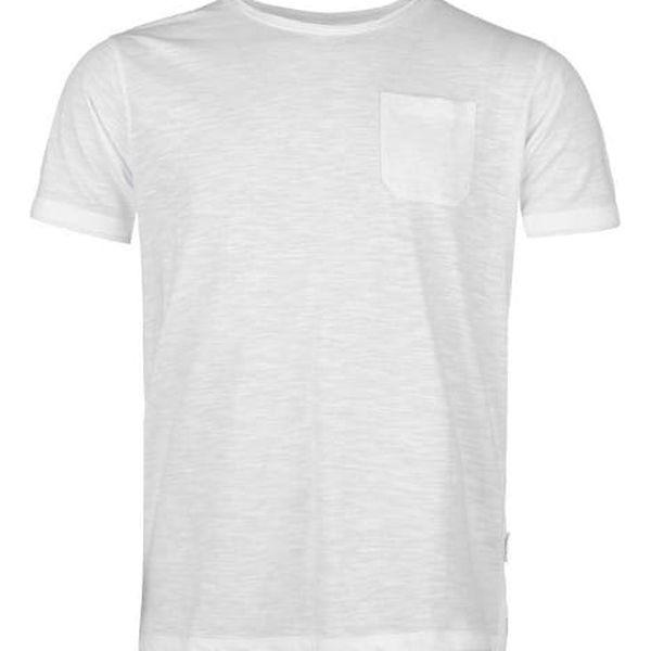 Pánské tričko Pierre Cardin Layered bílé