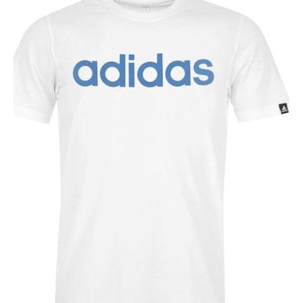 Pánské tričko ADIDAS Linear bílé
