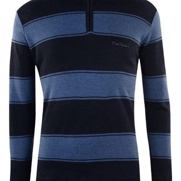 Pánský svetr Pierre Cardin Quarter modrý