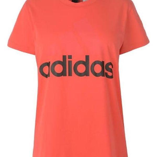 Dámské tričko ADIDAS Linear coral