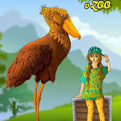 Dětská kniha s vybraným příběhem a vlastními fotografiemi