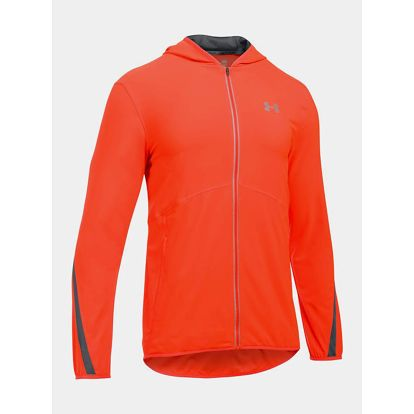 Bunda Under Armour Run True SW Jacket Červená