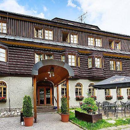3–5denní wellness pobyt pro 2 s polopenzí v Alpském hotelu***+ ve Špindlerově Mlýně